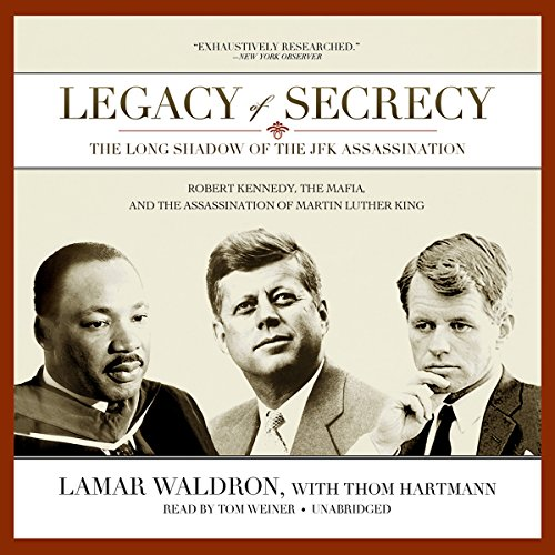 Legacy of Secrecy audiobook cover art