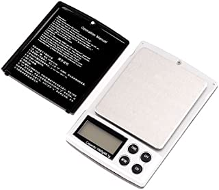 Bundle of 2, KKmoon 1000g x 0.1g Mini Electronic Balance Weight Scale Digital Pocket Scale Jewelry Weight Scale