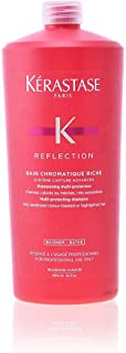 Kerastase Reflection Bain Chromatique Riche Multi-Protecting Shampoo by Kerastase for Unisex - 34 oz Shampoo, 1020 ml