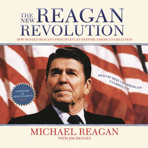 The New Reagan Revolution audiobook cover art