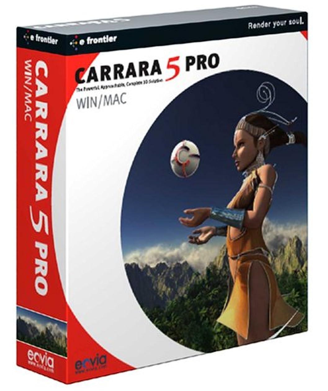フライカイト最適無効CARRARA 5 PRO 日本語版