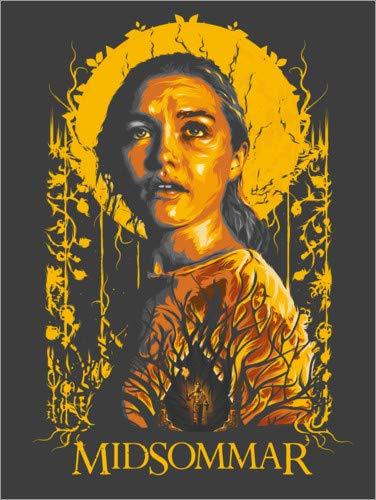 Póster 50 x 70 cm: Midsommar de The Usher Designs - impresión artística, Nuevo póster artístico