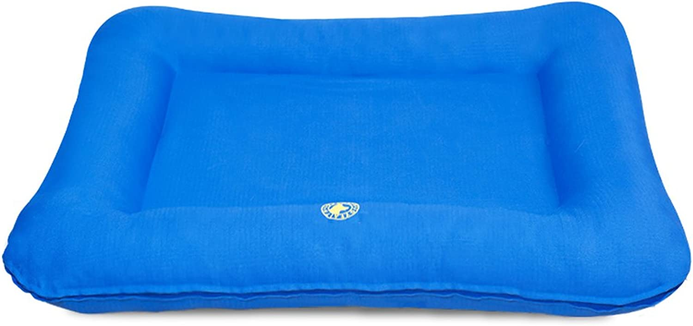 Piccolo bastone Mat Oxford panno, indoor grande kennel cuscinetto di cotone di spessore, cuscino d'aria amovibile estivo (Dimensione: XL)