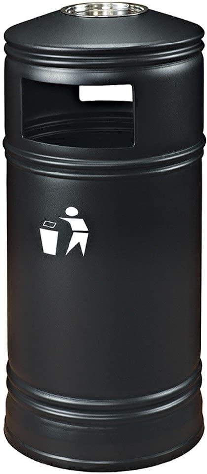 MIAOQINQIN Special Campaign Max 74% OFF Waste Bins Outdoor Indoor Trash Can R Creative Large