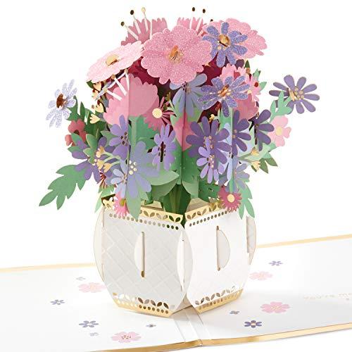 Hallmark Signature Paper Wonder Pop Up Birthday Card or Anniversary Card (Bouquet)