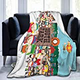 Palglg South Park Ultra-Soft Micro Fleece Blanket,Throw Blanket,A Blanket That Can Be Used in All Seasons, for Use in Cars.Soft and Comfortable.50 X40
