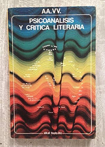 Psicoanálisis y crítica literaria.