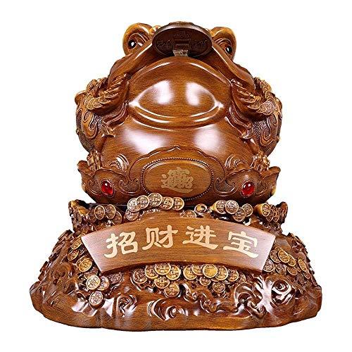 MEELLION Toad Ornamente, Feng Shui Toad Crafts, Ornament für Wohnzimmer, Reichtumstattstatue für Wohnkultur Schreibtisch dekorativ Love of a Lifetime (Size : Groß)