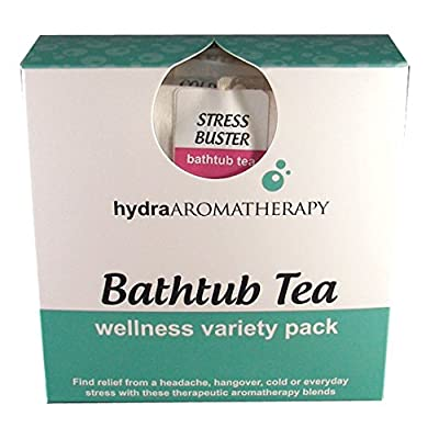 hydraAromatherapy Bathtub Tea-Wellness Variety