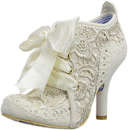Irregular Choice Abigail's Third Party, Damen Stiefel , Weiß - cremefarben - Größe:  36 EU