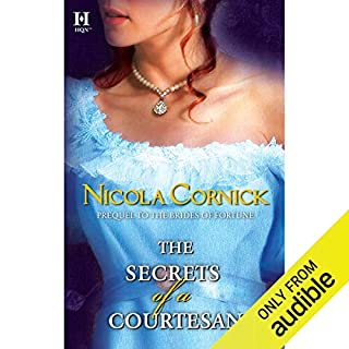 The Secrets of a Courtesan audiobook cover art