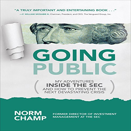 Going Public audiobook cover art