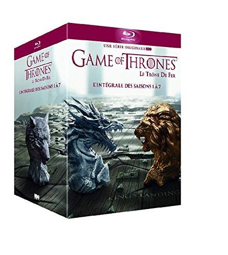 Game of Thrones (Le Trône de Fer) - L\'intégrale des saisons 1 à 7 [Reino Unido] [Blu-ray]