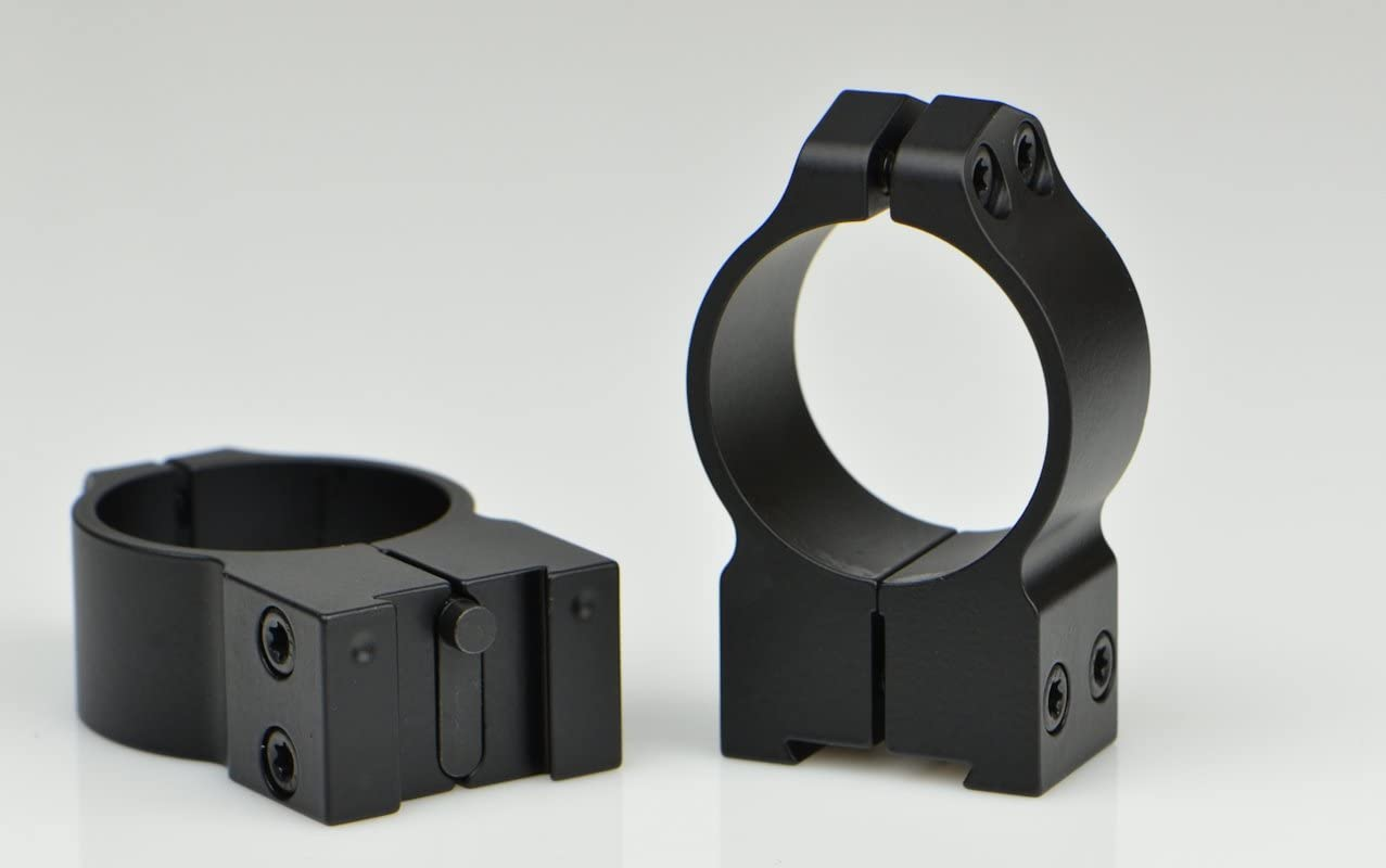 Warne 4007479 2021new shipping free Max 64% OFF 30mm Tikka Permanently - Matte Rings High Attached