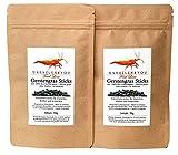 GARNELEN4YOU® Cebada orgánica, 2 pellets de 50 g de alimento de alta calidad para una alimentación relajada de habitantes de acuarios como gambas, cangrejos y caracoles (2 x 50 g).