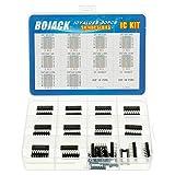BOJACK 10 Valori 30 pezzi Serie Shift Output Registers Chip IC, inclusi: SN74HC00N SN74HC02N SN74HC04N SN74HC08N SN74HC14N SN74HC32N SN74HC138N SN74HC164N SN74HC165N SN74HC595N IC assortimento Kit