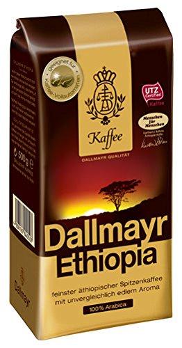 Dallmayr Ethiopia, Ganze Bohne - 500g - 4x