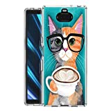 Pnakqil SonyXperia10 Phone Case, Transparent Clear with