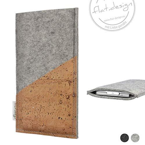 Handyhülle EVORA - Filz Kork Tasche made in Germany