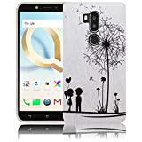 thematys Passend für Alcatel A7XL A7 XL 7071DX Pusteblume Handy-Hülle Silikon - staubdicht stoßfest und leicht - Smartphone-Case