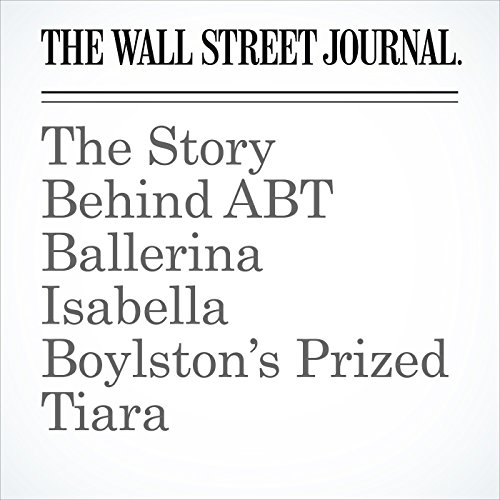 The Story Behind ABT Ballerina Isabella Boylston's Prized Tiara copertina