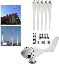 Grupo Electrógeno de Turbina Dólica Blanco con 5 Cuchillas y Controlador de Carga DC 24V 400W