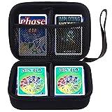 Funda de tarjeta compatible con Skyjo/fase 10/juego de cartas de gatitos imploding y más con correa de mano y divisor, con capacidad para más de 360 tarjetas