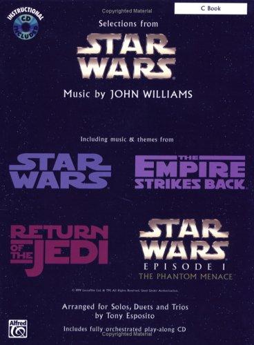 Star Wars (Selections): C Book, Book & CD