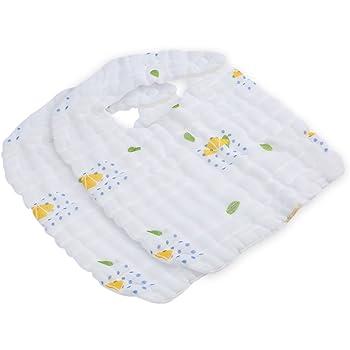 Green Sprouts muselina baberos de algodón orgánico: Amazon.es: Bebé