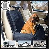 Bo&Chao - Seggiolino auto per cani, rialzo per sedile auto, sicuro e confortevole, adatto per cani