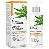 InstaNatural Facial Cleanser - Vitamin C Face Wash - Breakout & Blemish, Wrinkle Reducing, Exfoliating Gel - Clear Pores on Oily, Dry & Sensitive Skin with Organic & Natural Ingredients - 6.7 oz