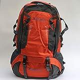 xsports 60L Large Camping Waterproof Backpack Travel Rucksack Luggage Bag UK - Orange