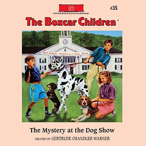 The Mystery at the Dog Show audiobook cover art