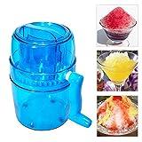 Ice Crusher Manual Machine, Eiscrasher für Snow Cones Eis, Slush, sand Ice Maker Home Ice Mini Smoothie Machine