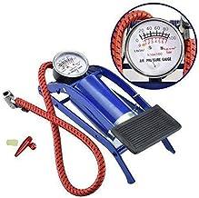 SARVAM®✓™High Pressure Foot Pump/Air Tyre Inflator/Pump Compressor |for Bike/Cycles & basket/football |Pack of 1 (Multi)
