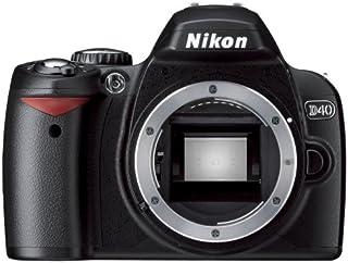 Nikon デジタル一眼レフカメラ D40 ブラック ボディ D40B