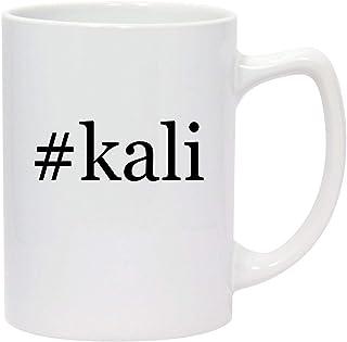 #kali - 14oz Hashtag White Ceramic Statesman Coffee Mug