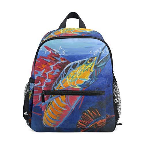 Mini Rucksack Daypack Sailfish Pre-School Bag Leichtgewicht für Mädchen Jungen Kinder