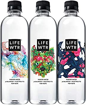 12-Count Lifewtr Premium Purified Water, 500ml