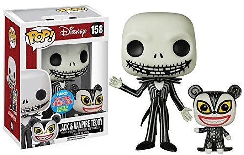 Funko POP: Disney: Pesadilla antes de Navidad: Jack & Vampiro Osito Exclusivo