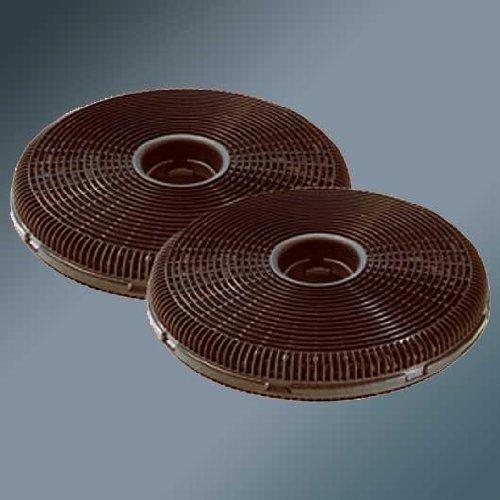 Best Best (DKF99556) Lot de 2 filtres à charbon pour hotte aspirante