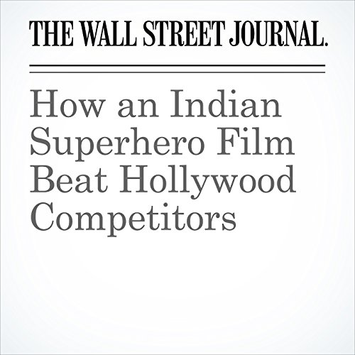 How an Indian Superhero Film Beat Hollywood Competitors copertina