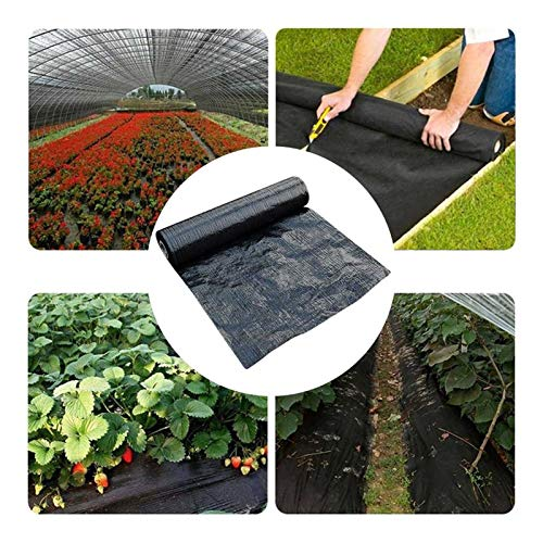 WYNZYFGF WY Weed Control Membrane Fabric Landscape Ground Cover, UV Stabilised, Ideal For Use In Patios, Garden, Flower Beds f1-8 (Size : 3PCS-2M*5M)