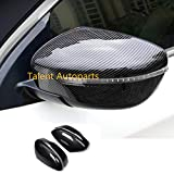 Xodouhi Car Rearview Mirror Cover Trim Frame lamp Sticker for Nissan X-Trail/Rogue(2014-2019)...