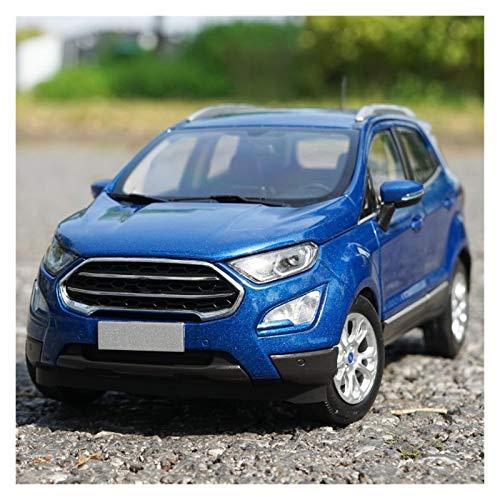 DGHF 1:18 Escala de Aleación Para ECOSPORT SUV Coches Modelo Metal Die-cast Regalos Adornos Niño Juguetes Adulto Colección Regalo Regalo
