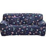 WXQY Funda de sofá elástica para Muebles de Sala de Estar, Funda de sofá de Esquina en Forma de L, Juego de Funda de sofá antiincrustante con Todo Incluido A9 2 plazas