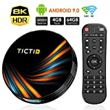 Android 9.0 TV Box TICTID 4GB RAM 64GB ROM TX6 Plus Smart TV
