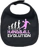 EZYshirt® Handball Evolution Baby Lätzchen Halstuch