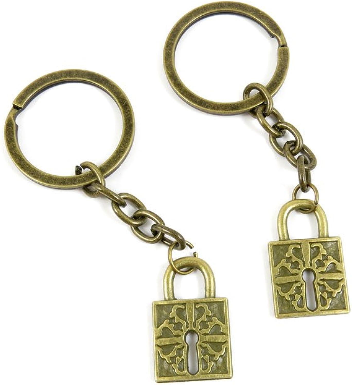160 Pieces Fashion Jewelry Keyring Keychain Door Car Key Tag Ring Chain Supplier Supply Wholesale Bulk Lots Y1JX6 Magic Lock