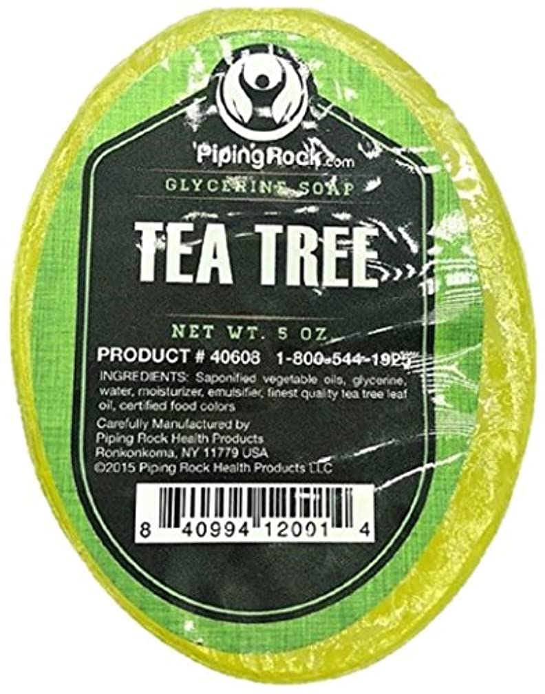 Piping Rock Tea Tree Oil Glycerine Soap 5 oz (142 g) Bar